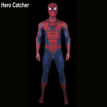Kahraman Catcher En Kaliteli 3D Baskı Spideman Cosplay Kostüm Adam Için Tobey Spiderman Spandex Takım Raimi Spiderman Kostüm Custome